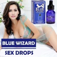 Blue Wizard Sex Drops | Cecair Perangsang Seks Dan Naikkan Nafsu Wanita