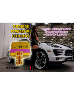 Cayenne Sex Drops | Cecair Perangsang Seks Untuk Wanita