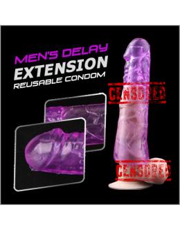 Penis Sleeve Delay Extension | Lebih Besar , Panjang & Tahan Lama