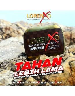 Lorenxo Supplement | Lelaki Kuat Tahan Lama