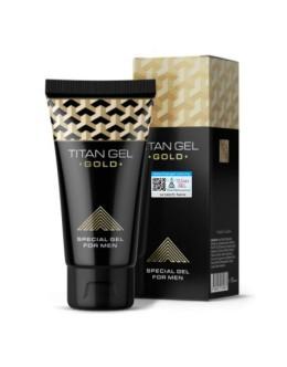 Titan Gel Gold Original Russia | Special Gel For Men