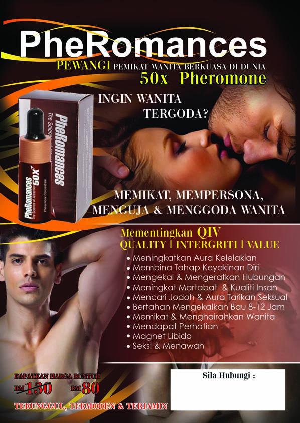 PheRomances Pheromone Perfume | Pewangi Memikat dan Menggoda Wanita